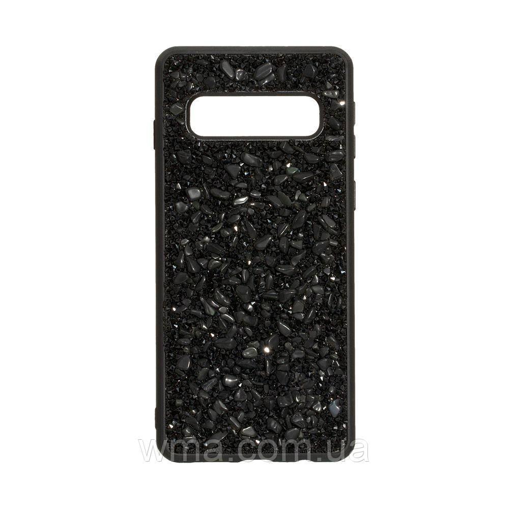 Чехол Bling World Stone for Samsung S10 Цвет Чёрный
