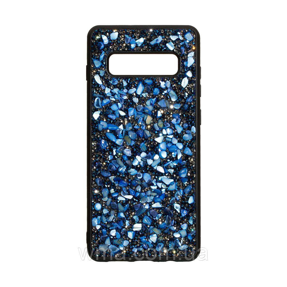 Чехол Bling World Stone for Samsung S10 Plus Цвет Синий