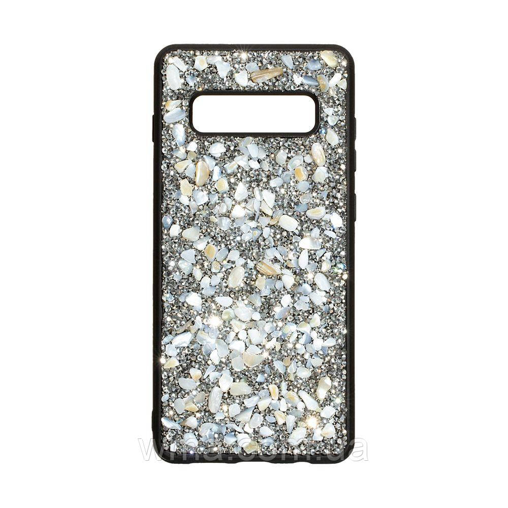 Чохол Bling World Stone for Samsung S10 Plus Колір Сталевий