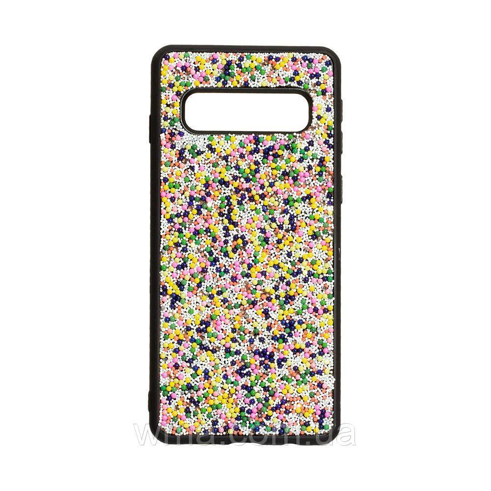 Чехол Bling World Beads for Samsung S10 Цвет Градиент