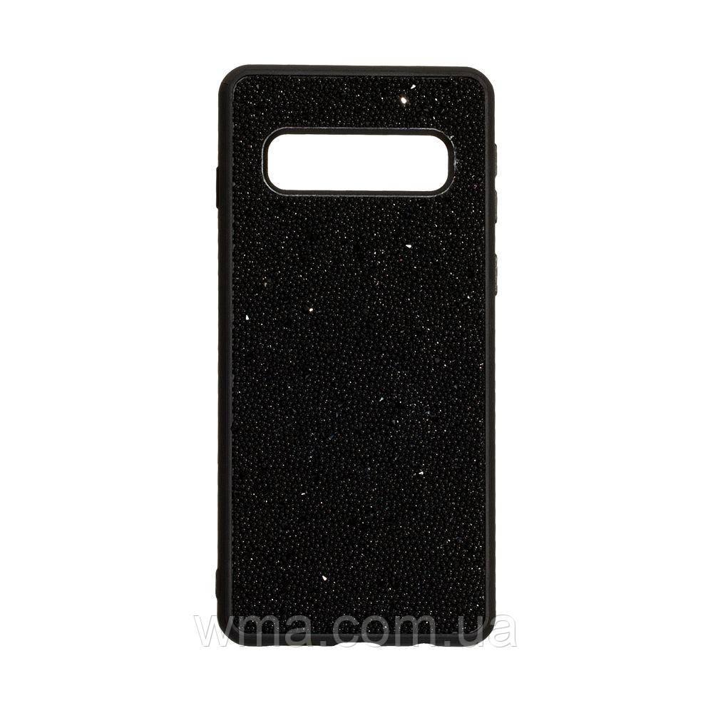 Чохол Bling World Beads for Samsung S10 Колір Чорний
