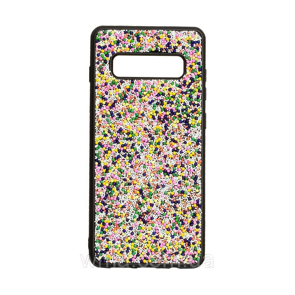 Чохол Bling World Beads for Samsung S10 Plus Колір Градієнт