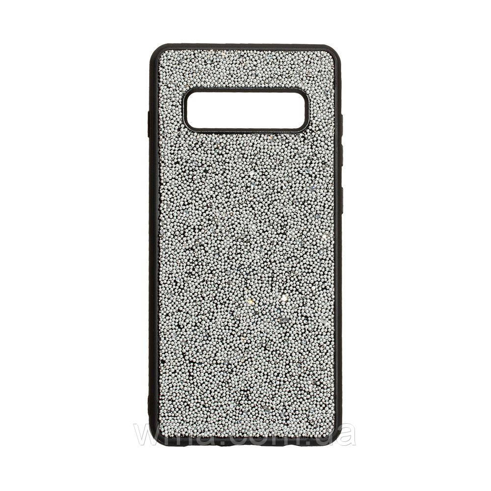 Чохол Bling World Beads for Samsung S10 Plus Колір Сталевий