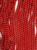Керамический жемчуг, красный 8 мм