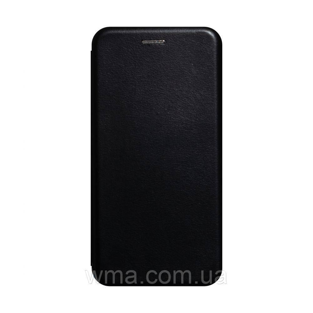 Чохол-книжка шкіра Samsung A41 2020 Колір Чорний