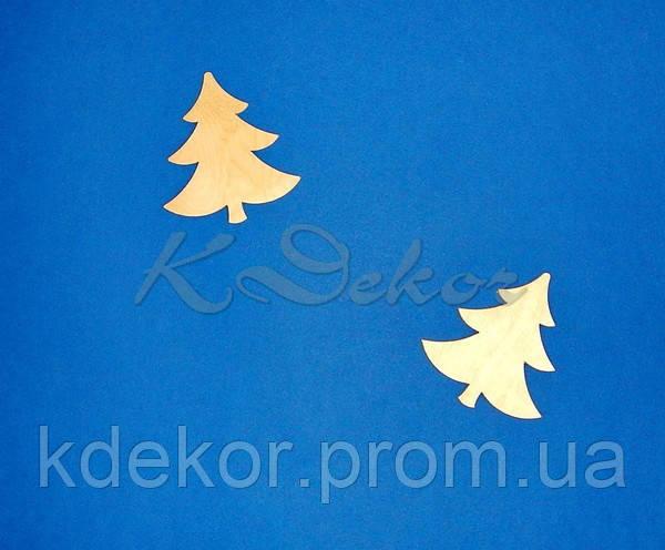 Елочка (елка) №4 заготовка для декупажа и росписи
