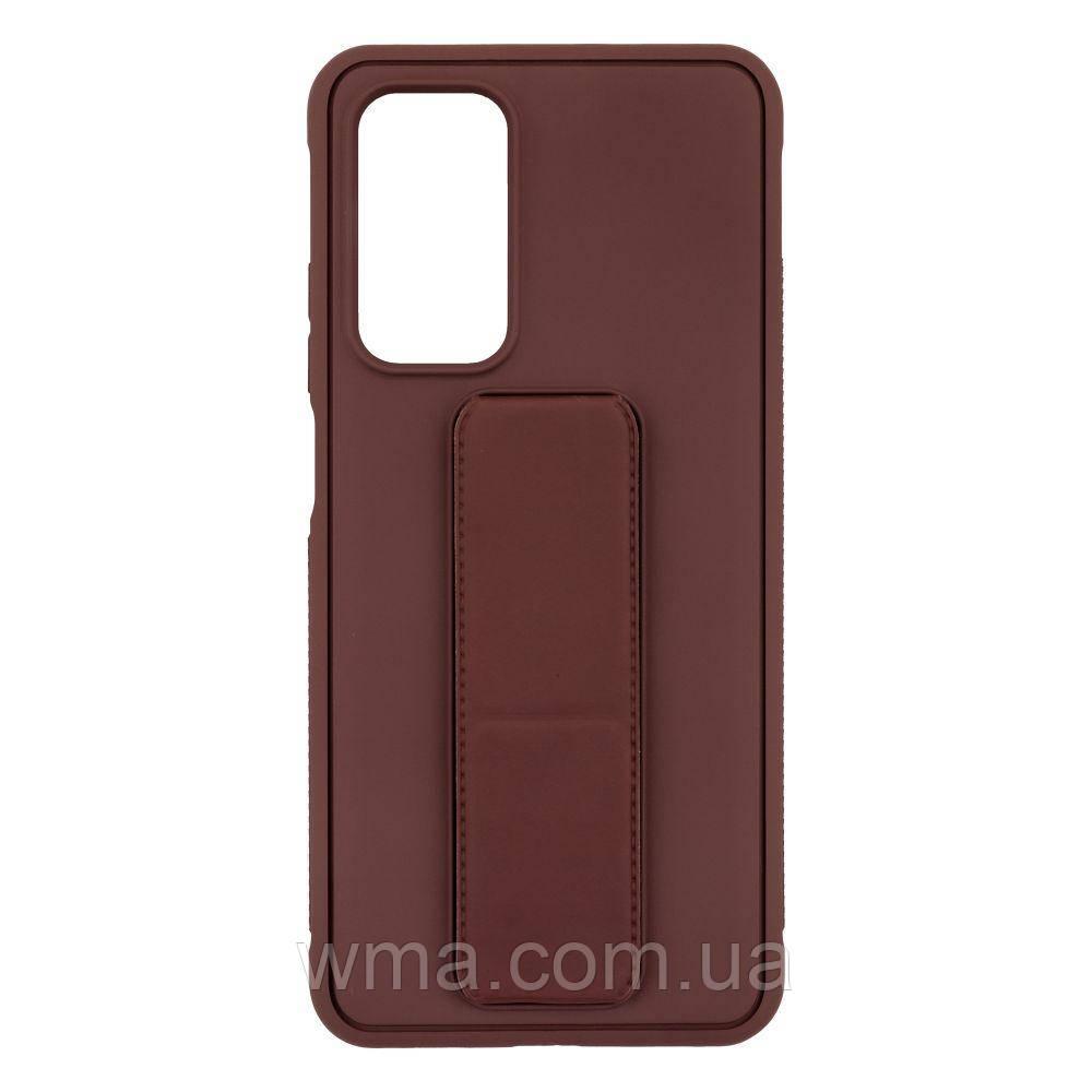 Чехол Bracket for Xiaomi MI 10T Цвет Brown