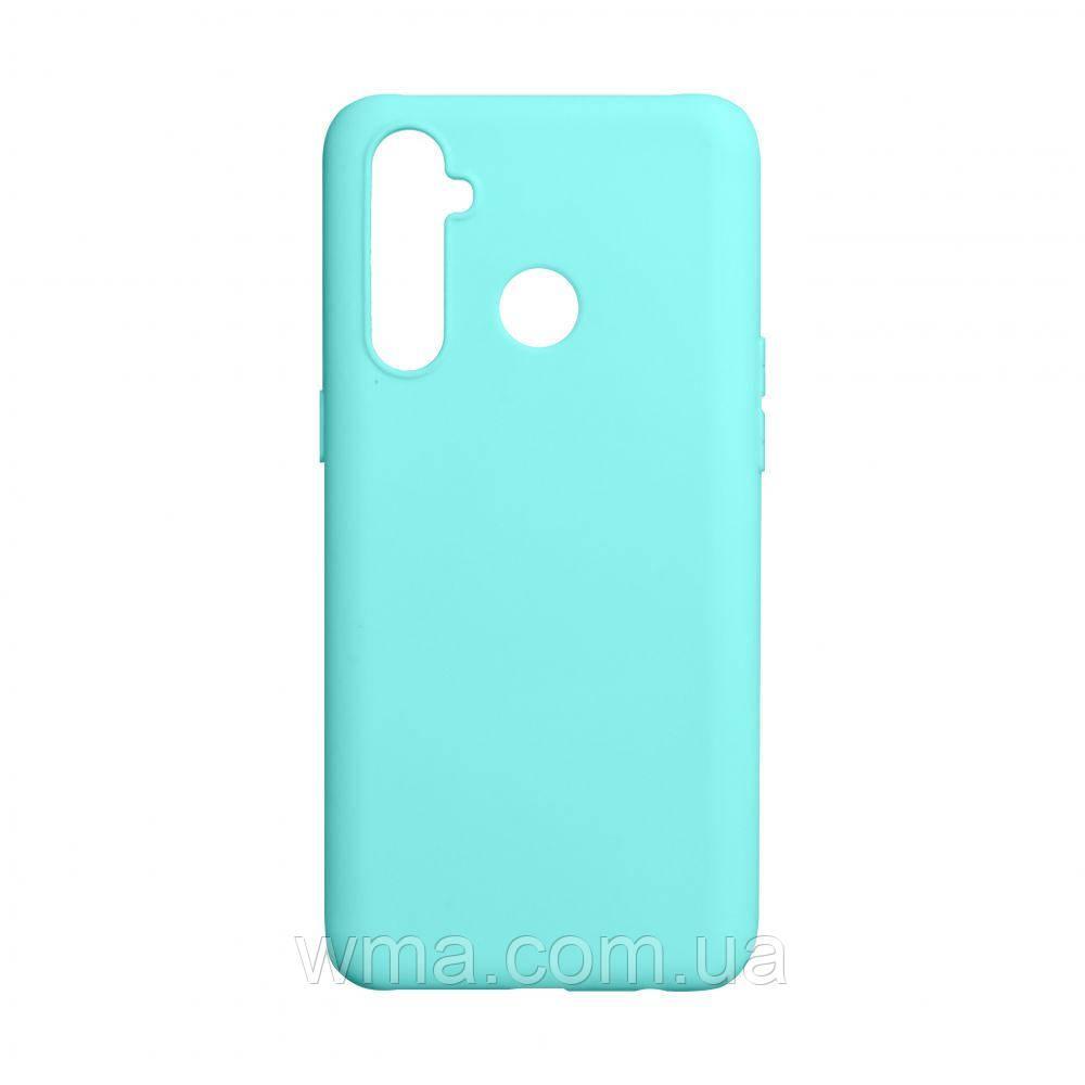 Чехол SMTT Realme 5 Pro Цвет Бирюзовый