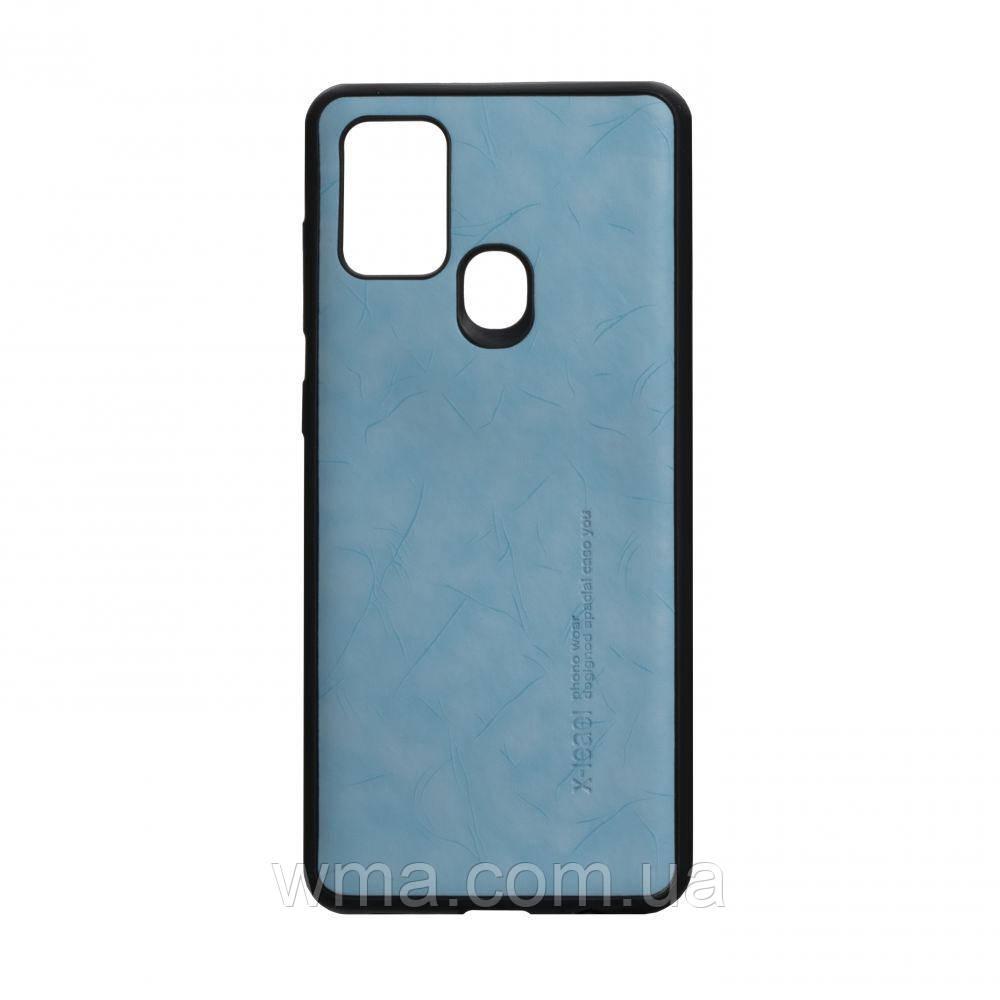 Чехол Leael Color for Samsung A21s Цвет Голубой