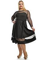 Нарядное женское платье ,модель 687,размеры 48-62, фото 1