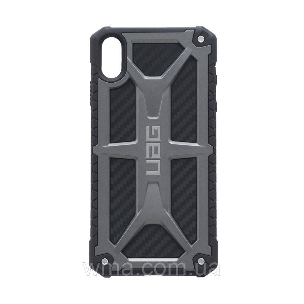 Чехол UAG Monarch for Apple Iphone Xs Max Цвет Серый