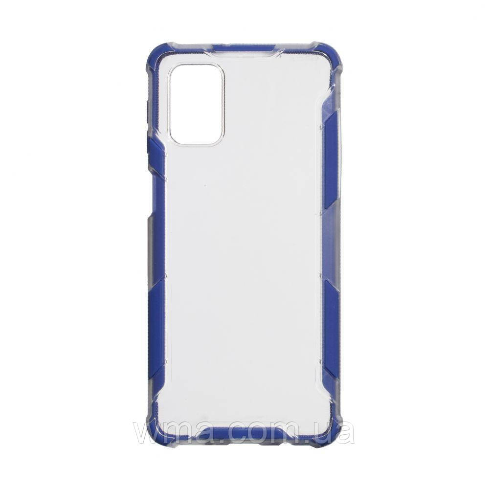 Чохол Armor Case Clear Color for Samsung M31s Колір Синій