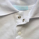 Біла теніска для хлопчика SmileTme Classic, білий, фото 3