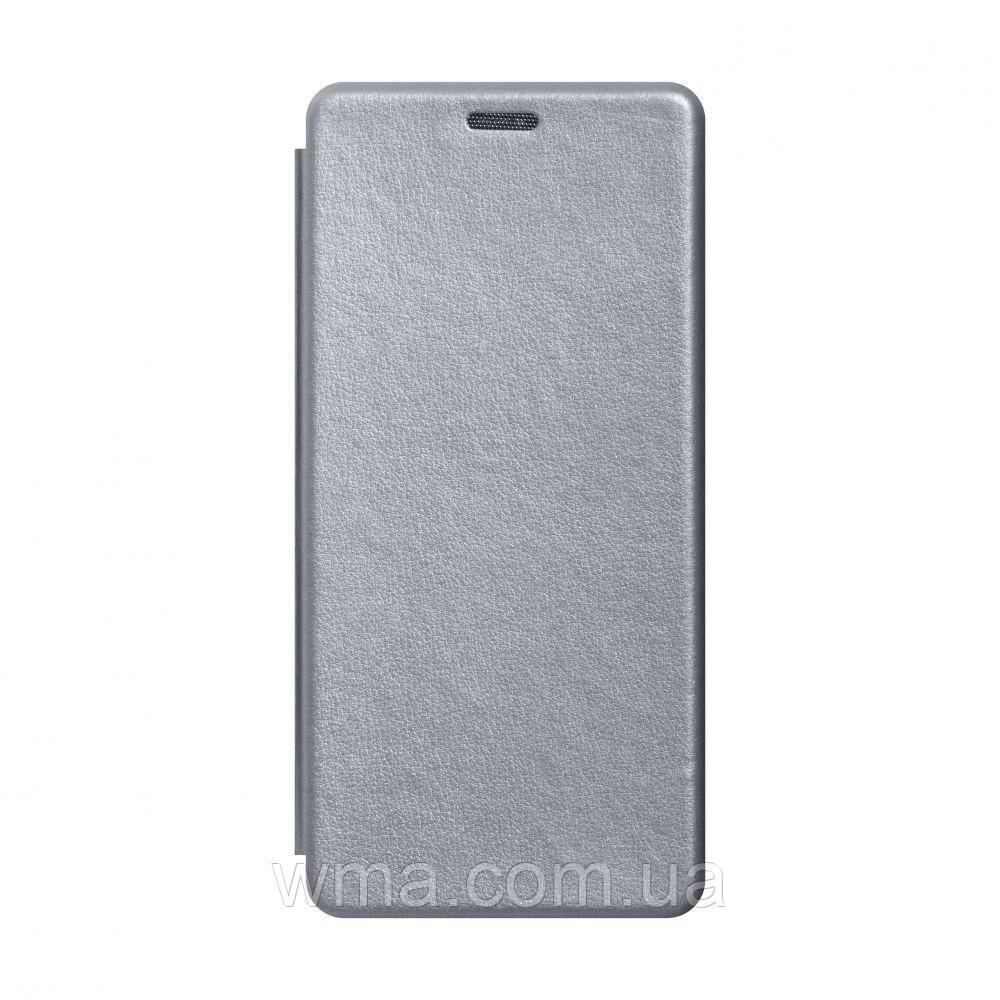 Чохол-книжка шкіра Xiaomi Mi 10 Lite Колір Сірий