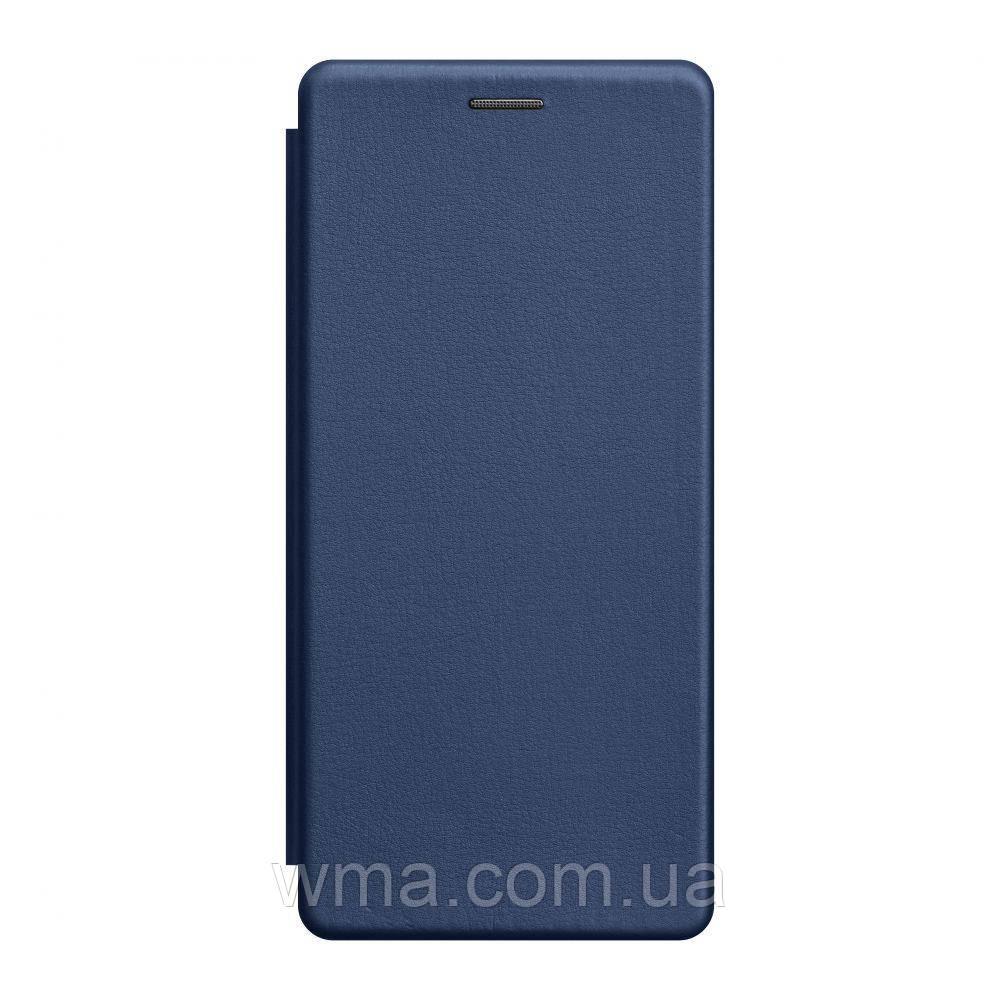 Чохол-книжка шкіра Xiaomi Mi 10 Lite Колір Синій