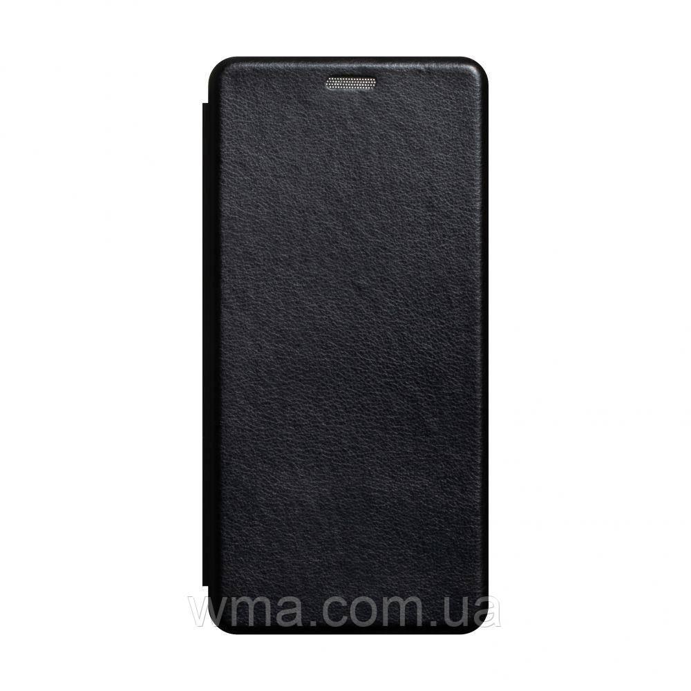 Чехол-книжка кожа Xiaomi Mi 10 Lite Цвет Чёрный