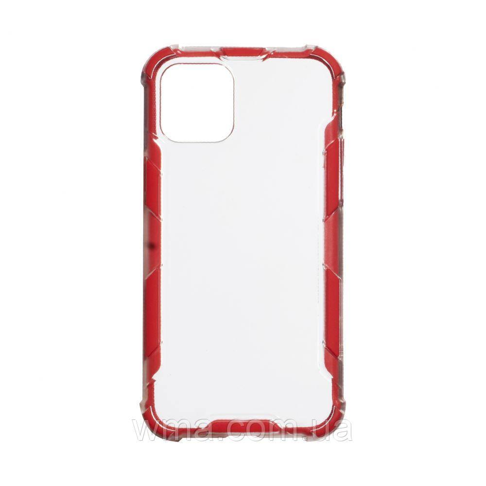Чохол Armor Case Clear Color for Iphone 12 Pro Max Колір Червоний