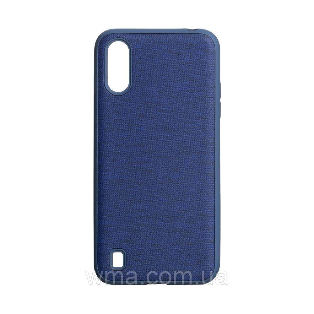 Чехол Jeans for Samsung A01 Цвет Синий