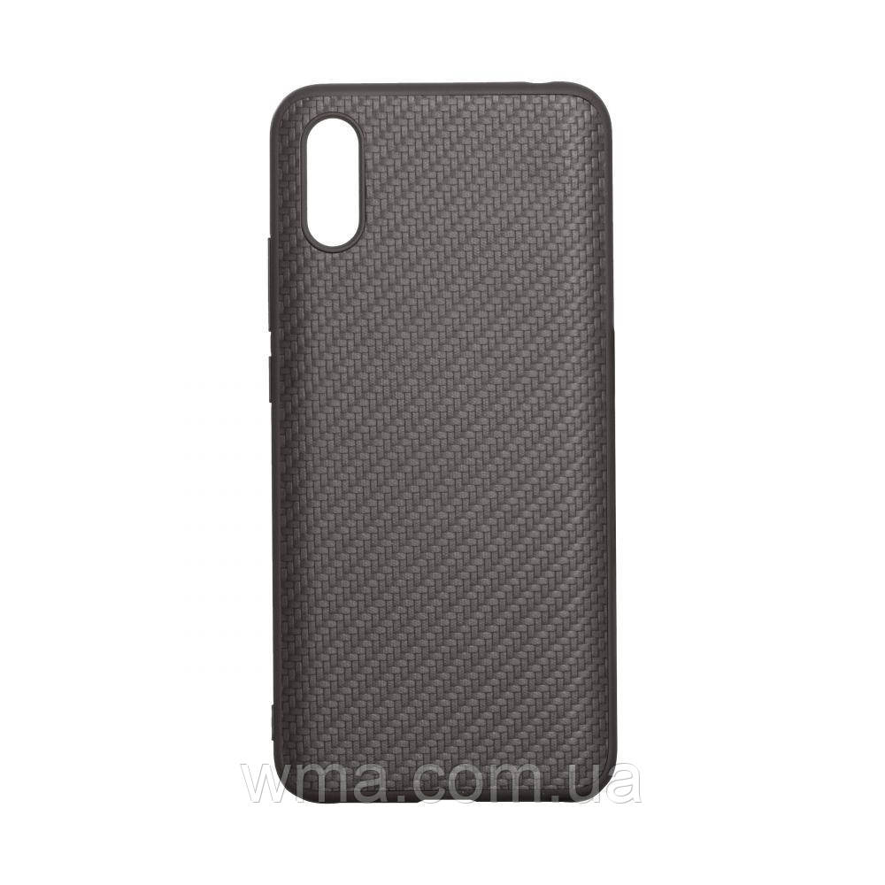 Чехол Carbon for Xiaomi Redmi 9A HQ Цвет Чёрный
