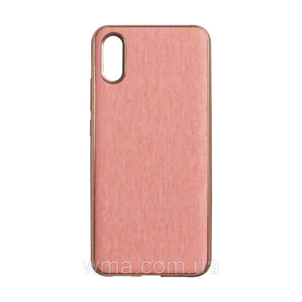Чехол Jeans for Xiaomi Redmi 9A Цвет Розовый