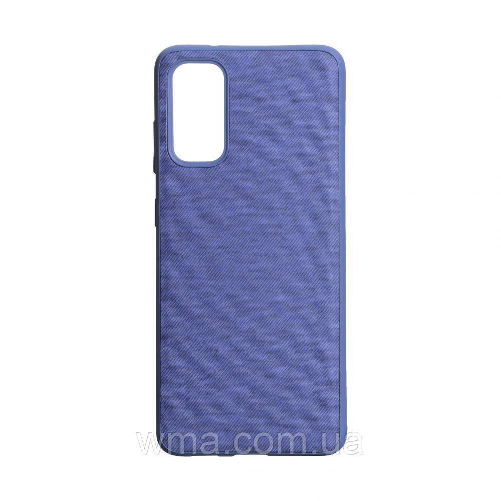 Чехол Jeans for Samsung S20 Цвет Фиолетовый