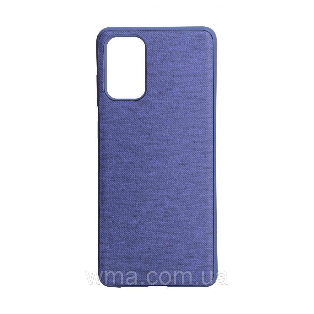 Чохол Jeans for Samsung S20 Plus Колір Фіолетовий