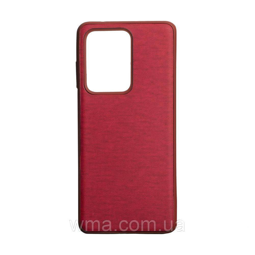 Чехол Jeans for Samsung S20 Ultra Цвет Красный