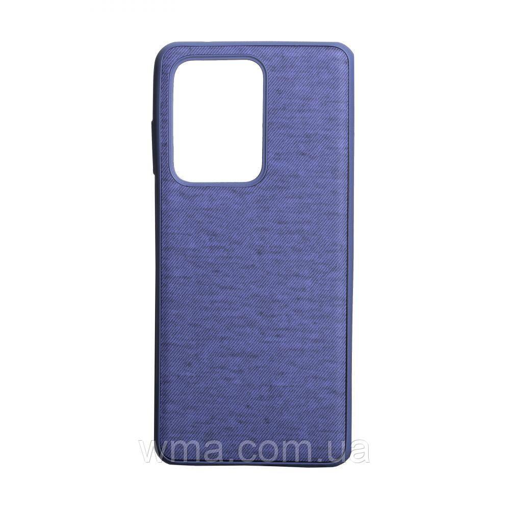 Чехол Jeans for Samsung S20 Ultra Цвет Фиолетовый