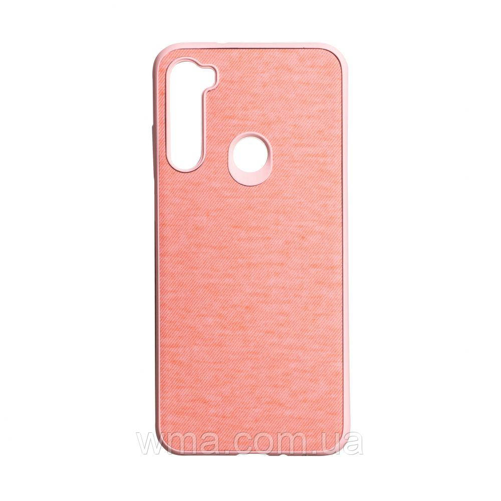 Чехол Jeans for Xiaomi Redmi Note 8T Цвет Розовый