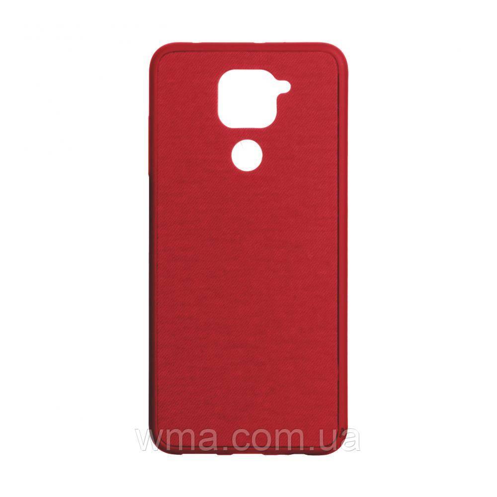 Чехол Jeans for Xiaomi Redmi Note 9 Цвет Красный