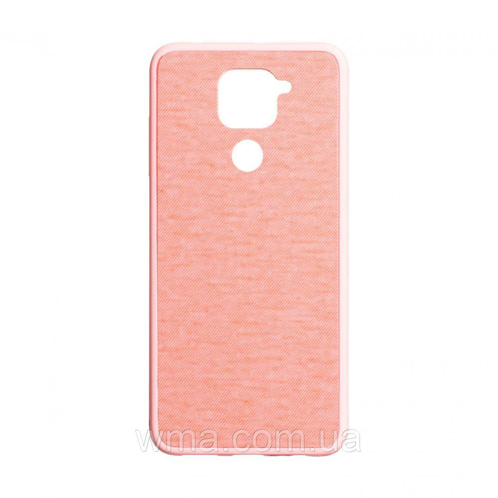 Чехол Jeans for Xiaomi Redmi Note 9 Цвет Розовый