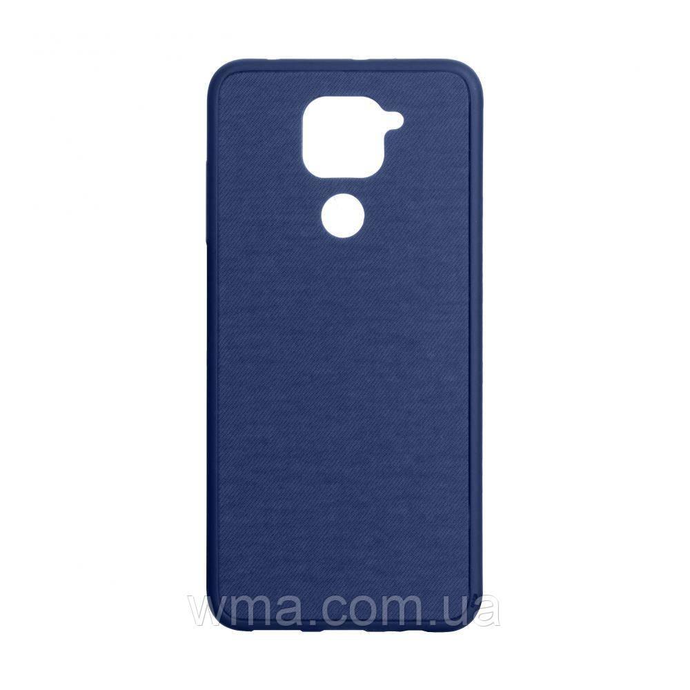 Чехол Jeans for Xiaomi Redmi Note 9 Цвет Синий