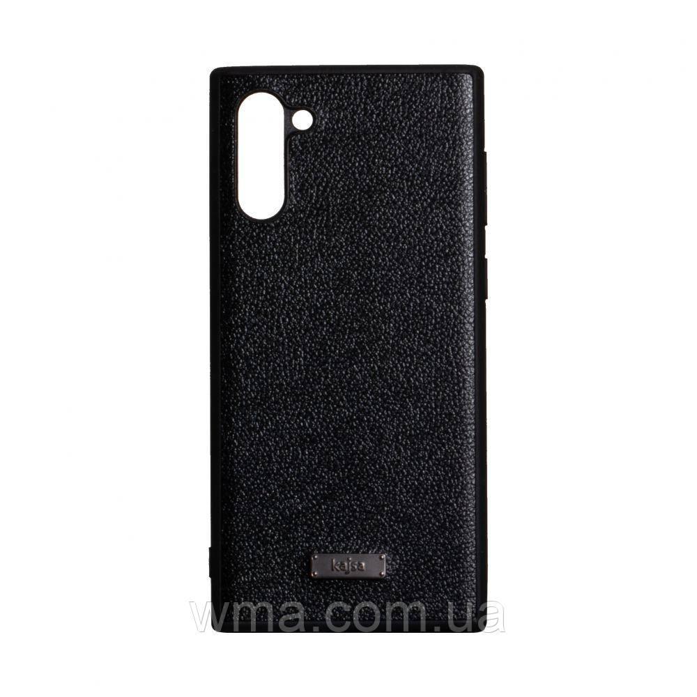 Чехол Kajsa Luxe for Samsung Note 10 Цвет Чёрный