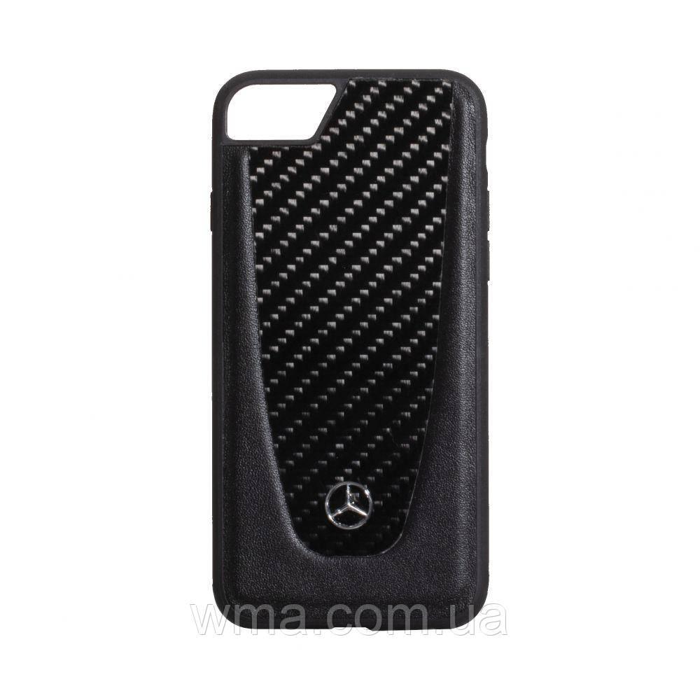 Чехол Mercedes-Benz Carbon for Apple Iphone 8G Цвет Чёрный