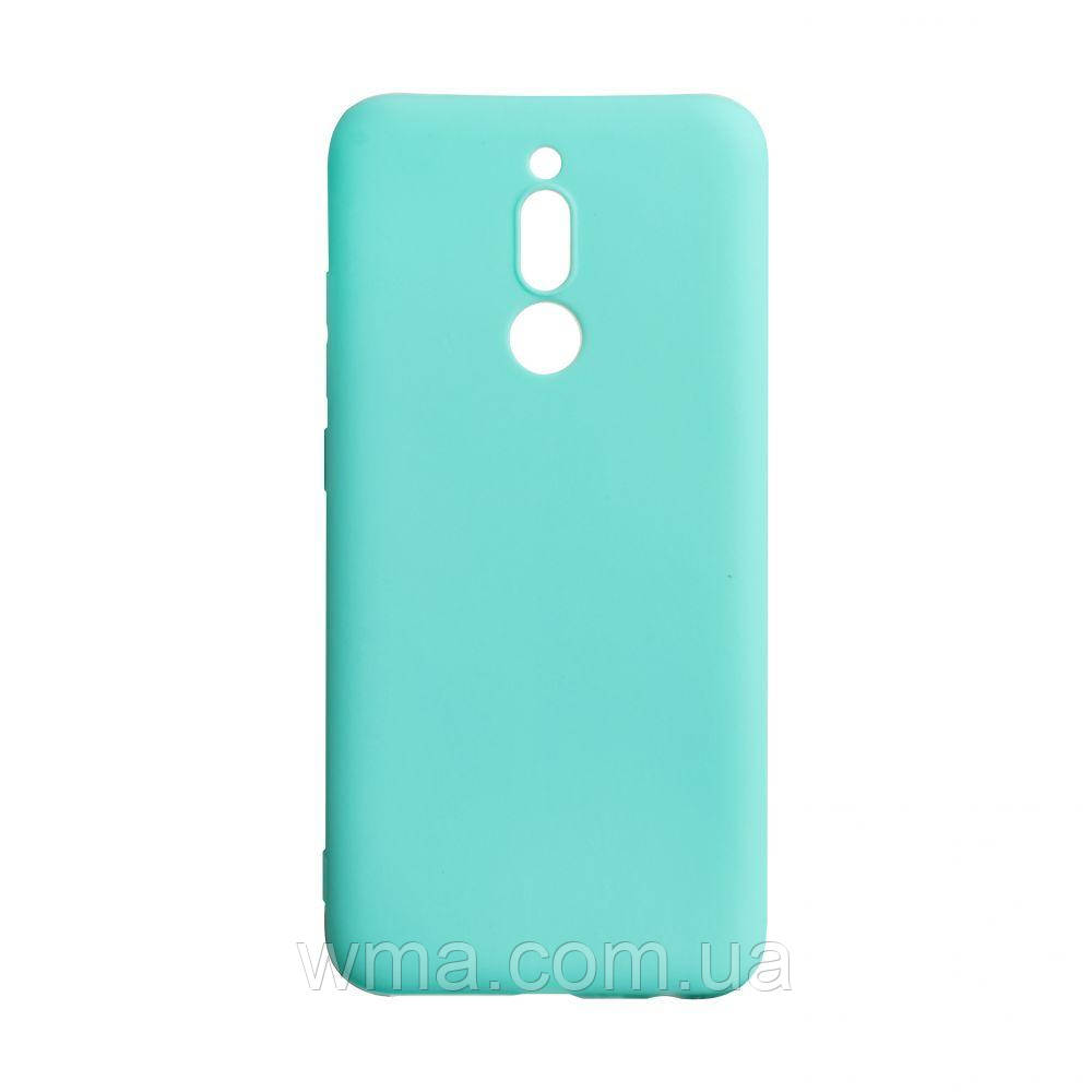 Чехол SMTT Xiaomi Redmi 8 Цвет Бирюзовый