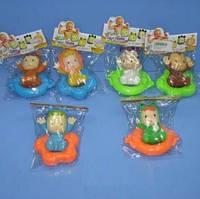 Водоплавающие игрушки 66134A-F (265316) (480шт/2) 4вида,в пакете 17*17*4см