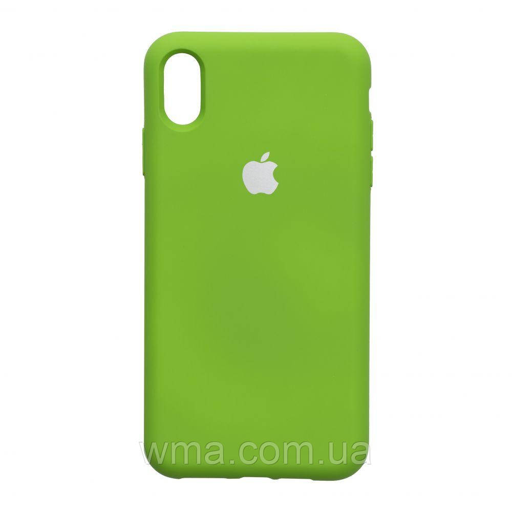 Чохол Full Case HQ for Apple Iphone Xs Max Колір 32.Green
