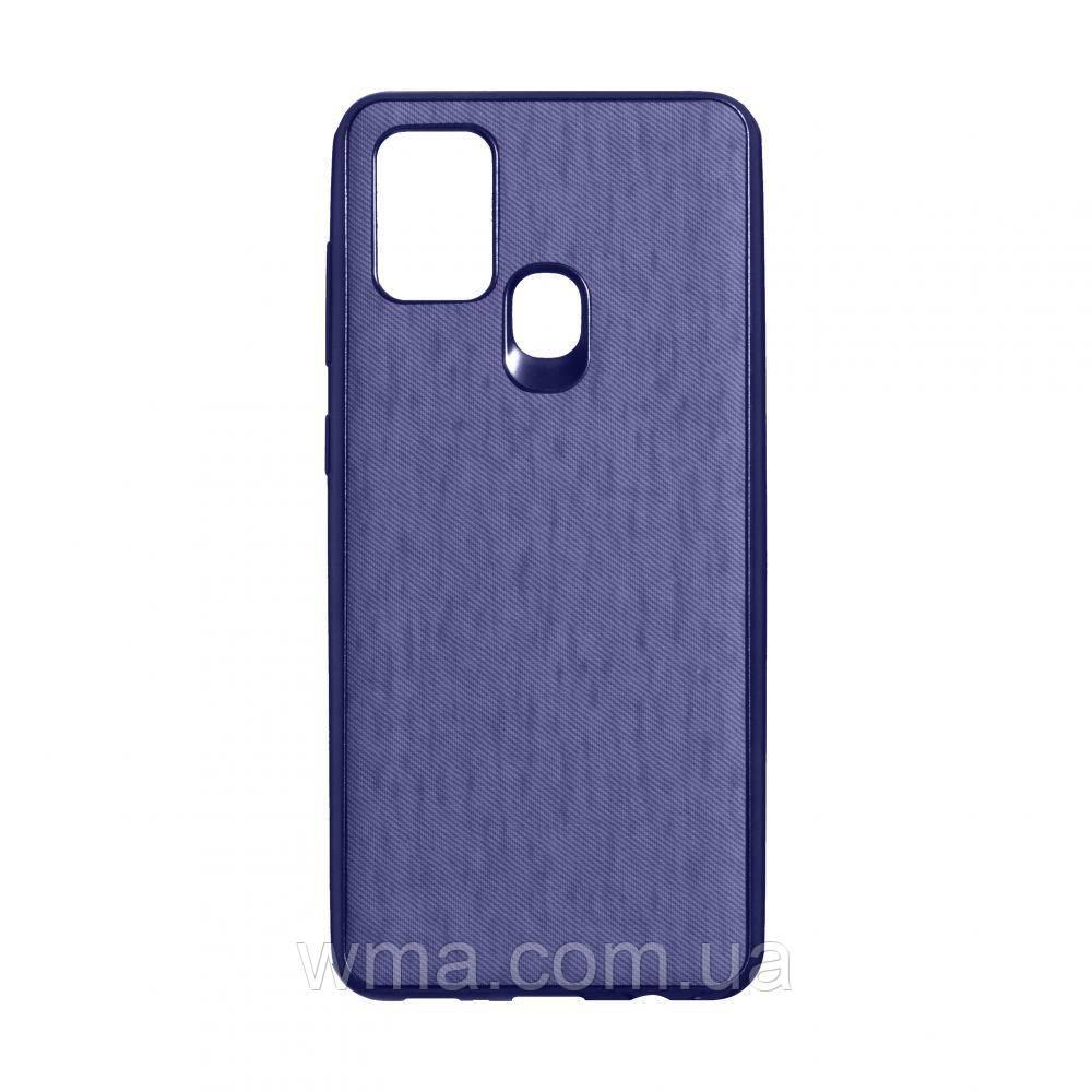 Чехол Jeans for Samsung A21s Цвет Фиолетовый