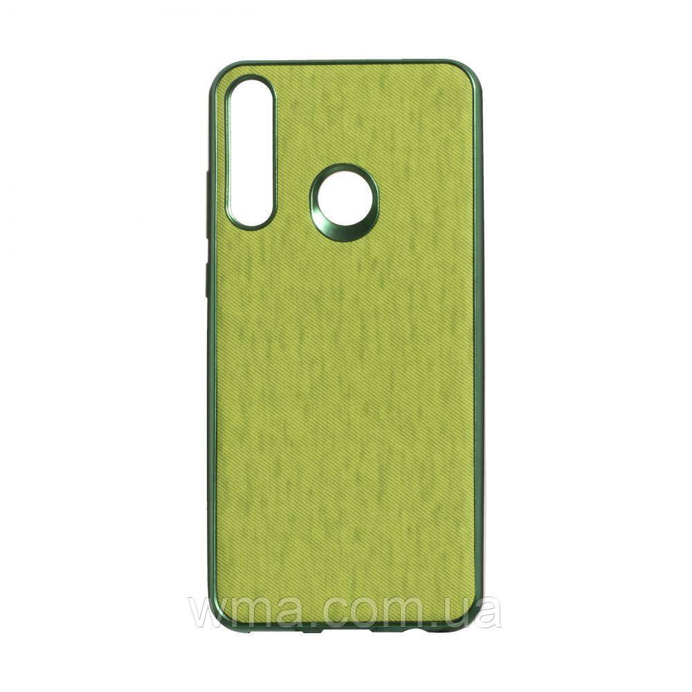 Чехол Jeans for Huawei Y6P Eur ver Цвет Зелёный