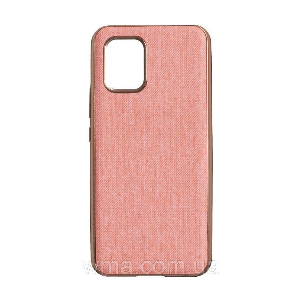Чехол Jeans for Xiaomi MI 10 Lite Цвет Розовый