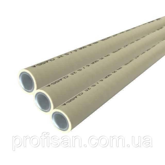 Труба Kalde Super Pipe PPR 20 mm PN 25 з алюмінієвою фольгою (4 м. п.)