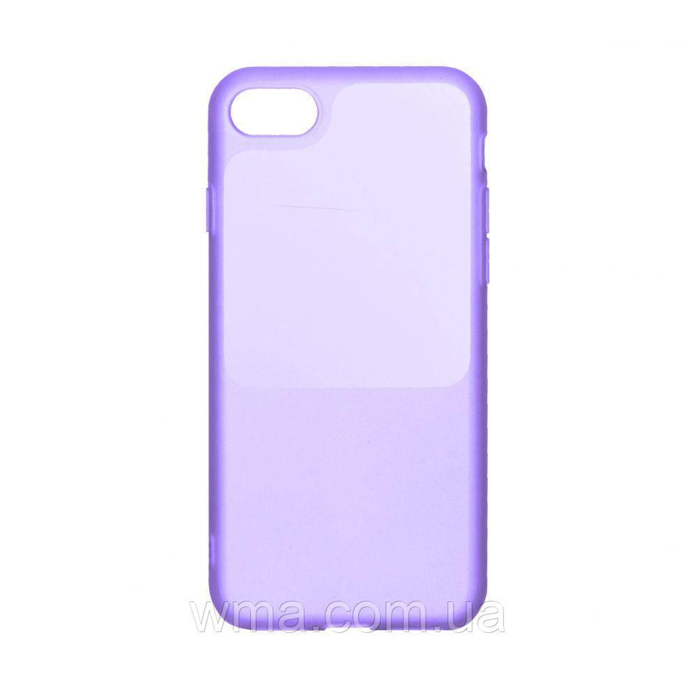 Чехол Bright Silicone for Iphone 6 Цвет Фиолетовый