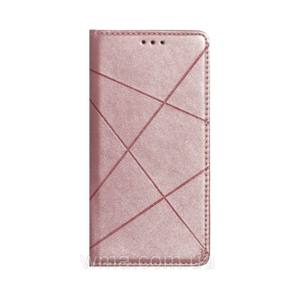 Чохол-книжка Business Leather for Samsung A21s Колір Рожевий