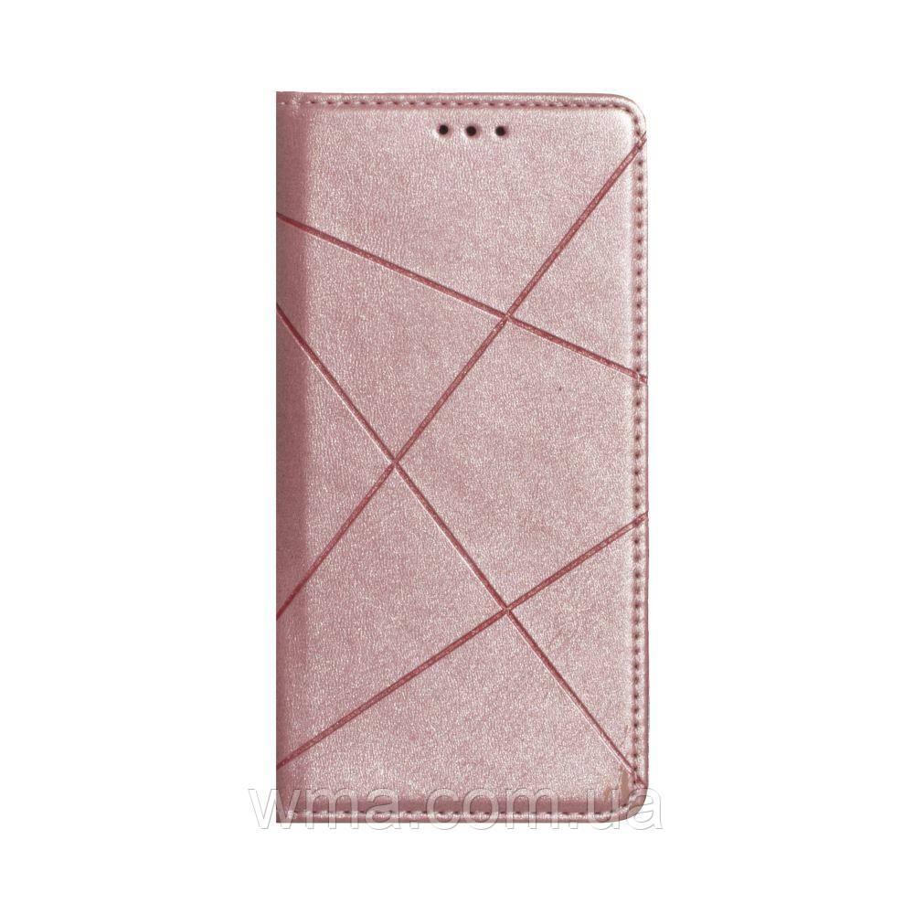 Чохол-книжка Business Leather for Samsung A41 Колір Рожевий
