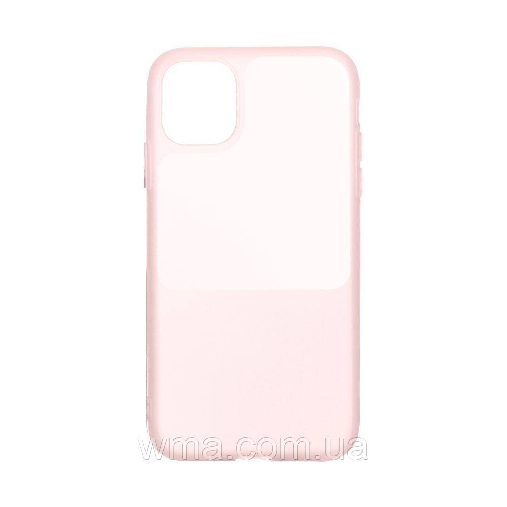 Чехол Bright Silicone for Iphone 12 Mini Цвет Розовый