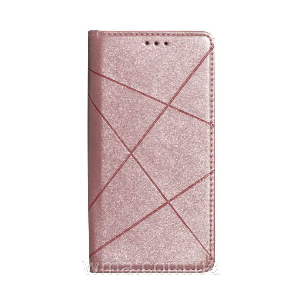 Чохол-книжка Business Leather for Samsung S20 2020 Колір Рожевий