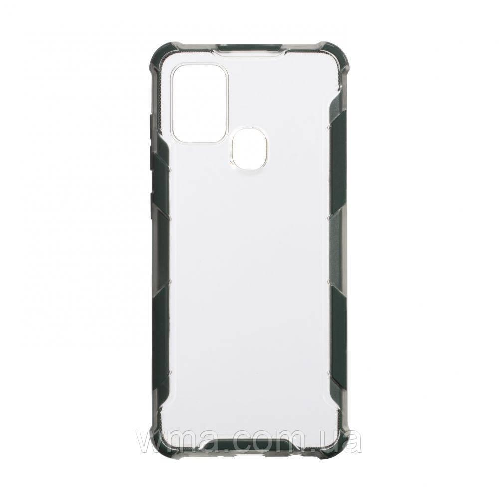 Чохол Armor Case Clear Color for Samsung A21s Колір Зелений