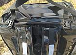 Раскладной рюкзак для еды, пиццы 42*42, напитков. Раскладная сумка доставки еды, пиццы, суши. ПВХ. Каркас, фото 10