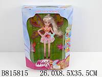"Кукла ""Winx""муз. 822 (36шт/2) 3вида, батар., свет.,с браслетом,в кор. 32*64*13,5см"