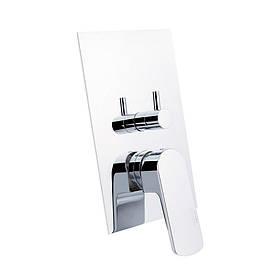 Смеситель скрытого монтажа для ванны Bianchi Fly INDFLY2304073CRM на три потребителя